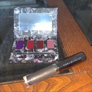 New Urban Decay VICE lip kit and liquid lipstick